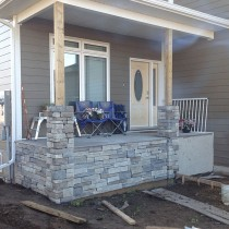 Stone Contractor Project For TP Enterprises (Slave Lake Home Builder) 02