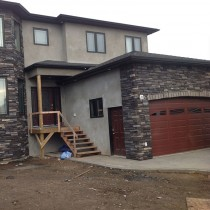 Stone Contractor Project For TP Enterprises (Slave Lake Home Builder) 03