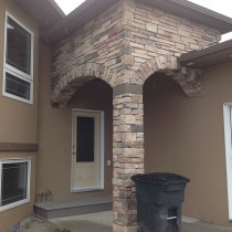 Stone Contractor Project For TP Enterprises (Slave Lake Home Builder) 01